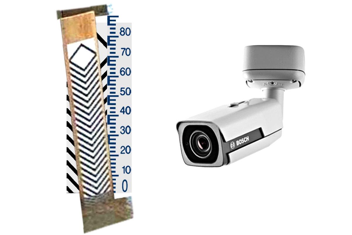WPF - limnimetric scale + camera