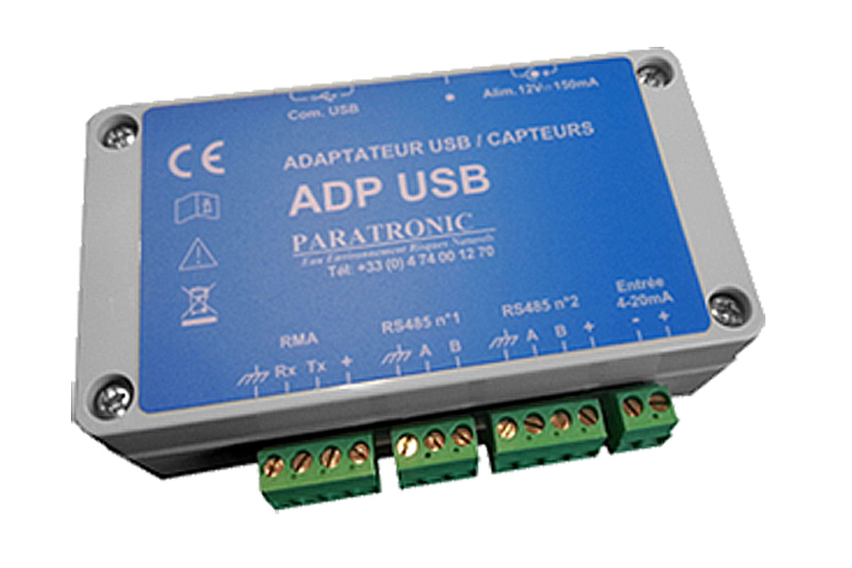 Adaptateur USB / Capteurs